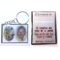 Llavero Personalizado P/recuerdos Cumpleaños, Difuntos, Etc.