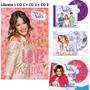 Combo Violetta Libreta Mas Cd De Las 3 Temporadas. Nav15