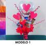 Candy Bouquet, Arreglo Con Dulces Para El Día De Las Madres.
