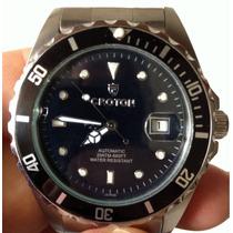 Reloj Croton Submarino 200m, Tipo Rolex Submarino