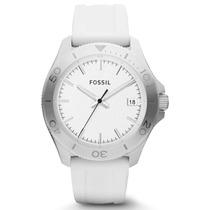 Reloj Fossil Am4471 De Acero Inoxidable Y Correa Silicona