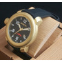Reloj Invicta Swiss Mes Sea Hunter Dial Black Gold 18kl