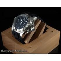 Reloj Invicta Mens Swiss Excursion Sport Siver Tone Ss Black