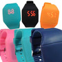Reloj Digital Led Touch Tactil De Silicon Unisex