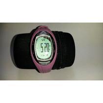Reloj De Dama Adidas Silver Tone & Pink Digital Lahar