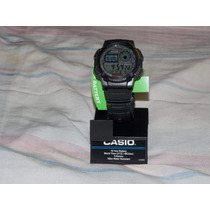 Reloj Deportivo Casio De Hombres Ae1000w.- Hora Mundial.