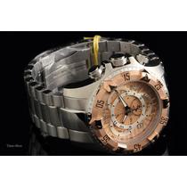 Reloj Invicta Mens Swiss Reserve Excursion Gold Chronograph