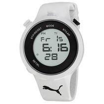 Reloj Digital Deportivo Fitness De Caballero Puma Go Grey
