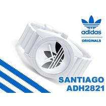 Reloj Deportivo Blanco Adidas Santiago Adh2821 100% Original