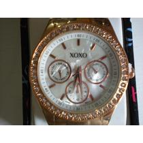 Reloj Xoxo Original Oro Rosado Para Dama Mod. Xo5386