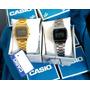Reloj Casio Plateado Y Dorado