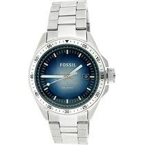 Reloj Fossil De Caballero, 100% Acero, Promoción Exclusiva!