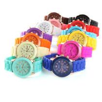 Bellos Relojes Geneva Variados Colores