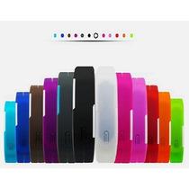 Reloj Silicon Led Touch Pulsera Ajustable Colores Varios
