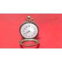 Reloj De Bolsillo Cylindre 10 Rubis En Plata