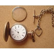 Reloj Finales 1800s New York Standar Restaurar Ó Repuesto