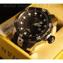 Reloj Invicta Mens Swiss Reserve Venom Black Gmt Polyrethan