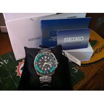 Reloj Seiko 5 Diver Green Modelo Srp205k1 Automatico