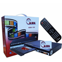 Reproductor De Dvd Marca Krk Con Usb Y Karaoke