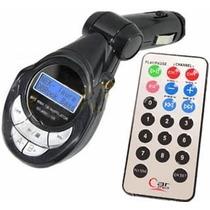 Transmisor Fm . 4 En 1 Control Remoto Puerto Usb Sd Mp3