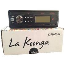 Reproductores La Koonga De Carros Para Memoria Sd Y Pendrive
