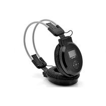 Auriculares Plegables Estéreo, Reproductor De Mp3, Radio Fm,