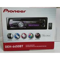 Radio Cd Pioneer Deh-6450bt