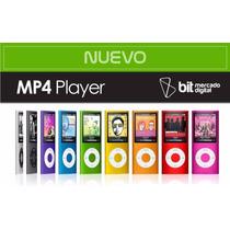Mp4 Con Pantalla + Memoria 8gb Audifonos Y Cable Usb