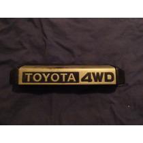 Porta Placa Original Toyota