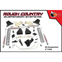 Rough Country Kit Suspensión 6plg F-250 Super Duty 11-14