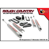 Rough Country Kit Suspensión 2plg Silverado Cheyenne 99-06