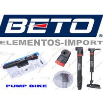 Bomba De Aire Bicicleta Bicicleta Beto Con Porta Cuadro