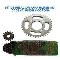 Kit De Relacion O Rodamiento Horse 1 Y 2,