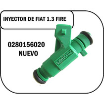 Inyector Para Fiat Palio O Siena 1.3 Fire 0280156020