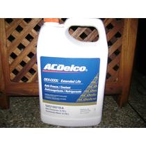 Refrigerante Acdelco 3.7litrs Chevorlet