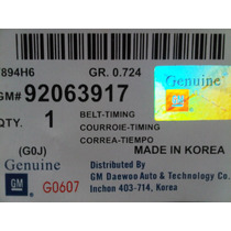 Kit Correa Tiempo Optra Limited 1.8 (koreano)