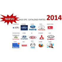 Pack Epc Catalogo Partes 2014 Todas Marcas Gm,ford,toyota