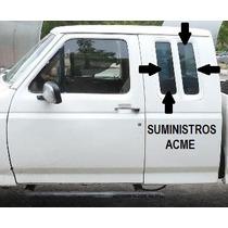 Vidrio Quarter Izquierdo Ford Pick Up Cabina Y 1/2