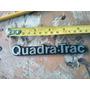 Emblema Nuevo Antiguo Quadra-track Wagoneer