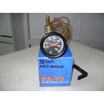 Reloj Temperatura Mecanico Con Guaya Metal Marca Faria