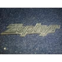 Emblema Ford Zephyr Original Plastico
