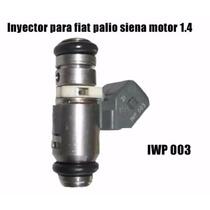 Inyector Para Fiat Palio Siena Motor 1.4 Iwp 003