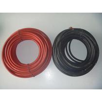 Cable #2 Rojo Y Negro Para Baterias O Maquinas De Soldar.