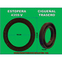 Estopera Cigueñal Trasero Chevrolet Motor 262/305/350