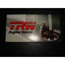 Juego De 8 Valvulas De Admision Estandar/ Astra 2.2l/trw