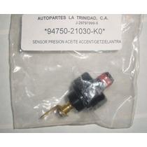 Sensor Presión Aceite Hyundai Accent / Elantra / Getz