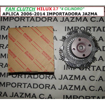 Fan Clutch Hilux 2.7 Motor 4 Cilindro Original Toyota