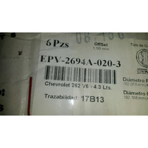 Pistones Chev 262 /4.3
