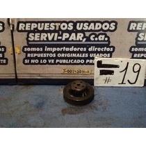 Polea De Bomba De Agua Usada Original Chevrolet 305/350 Tbi