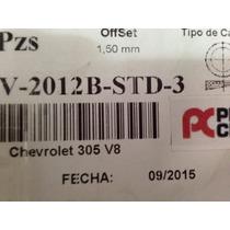 Juego Pistones Chevrolet 305 V8 Std Marca Perfect Circler